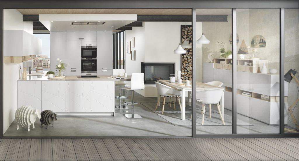 Bien-aimé Les couleurs à associer avec une cuisine aménagée et ouverte  LY58