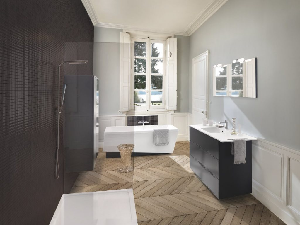 salle de bains avec douche italienne blog schmidt. Black Bedroom Furniture Sets. Home Design Ideas
