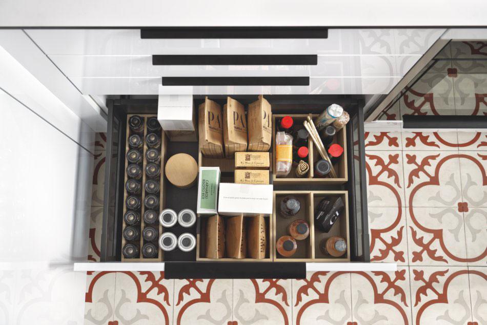 rangement tiroirs de la cuisine design schmidt