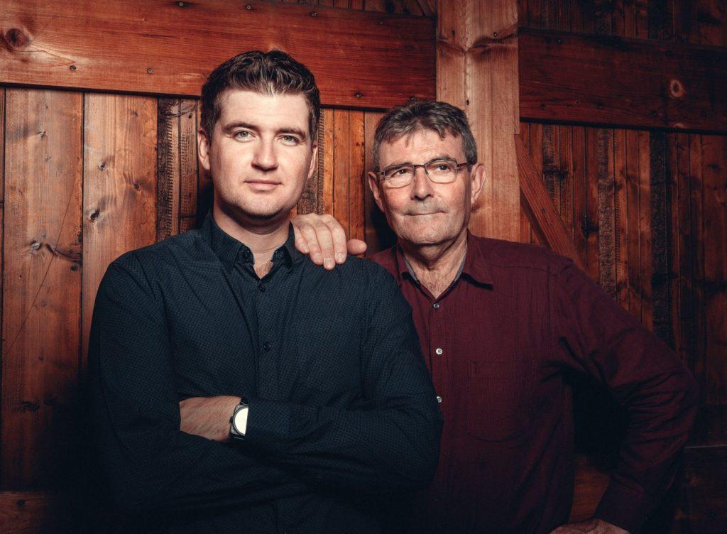 Lucien et Mickael Doriath, producteurs de foie gras alsaciens.