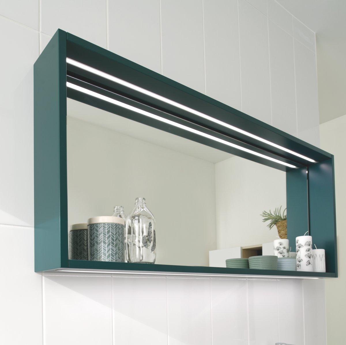 Meuble miroir de salle de bains
