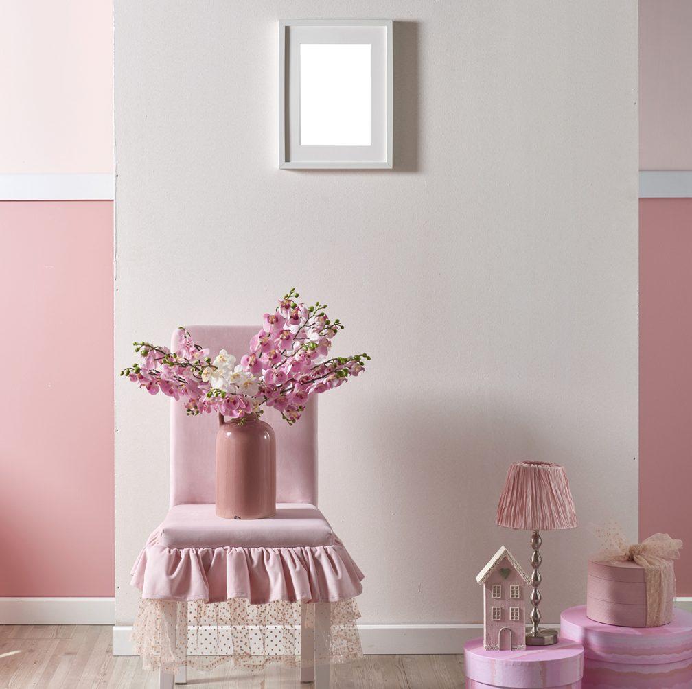 Déco rose pastel