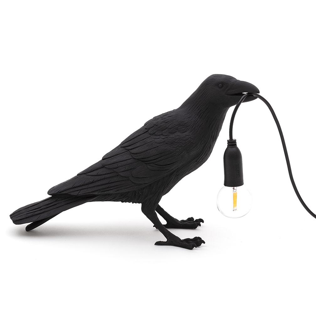 Seletti & son sombre corbeau