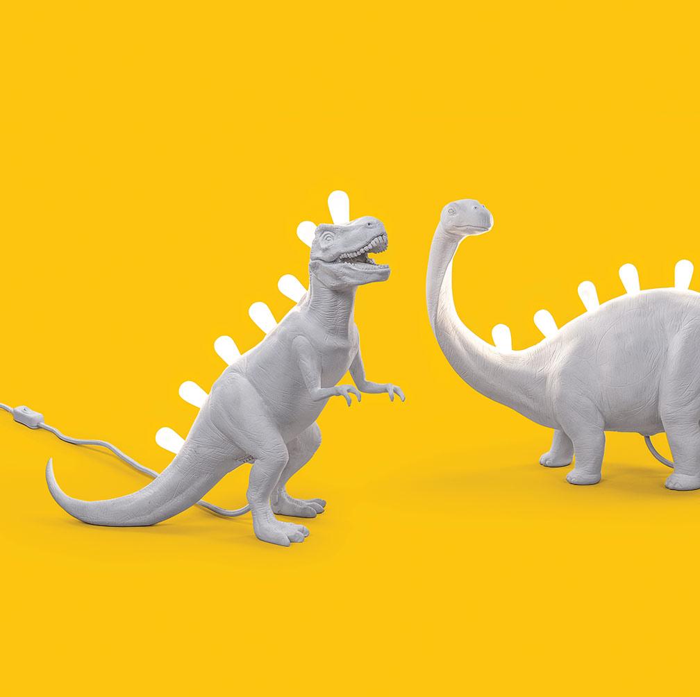 Seletti & sa Jurassic lamp