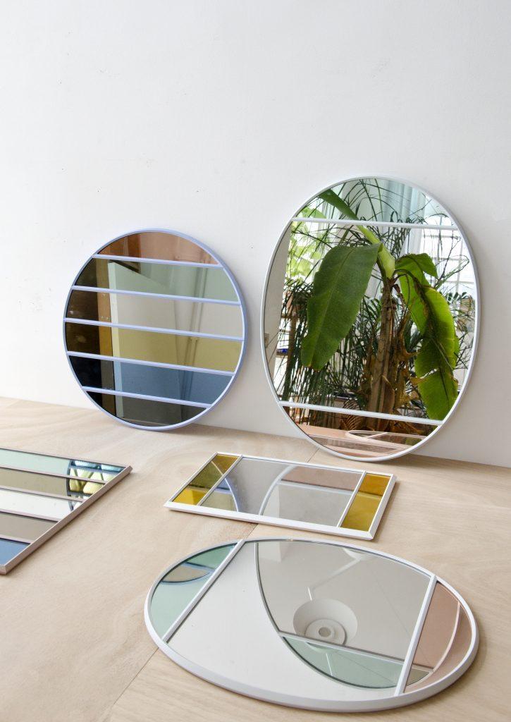 miroir vitrail design décoration d'intérieur