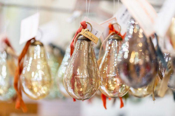 Décorations de Noël boule en verre