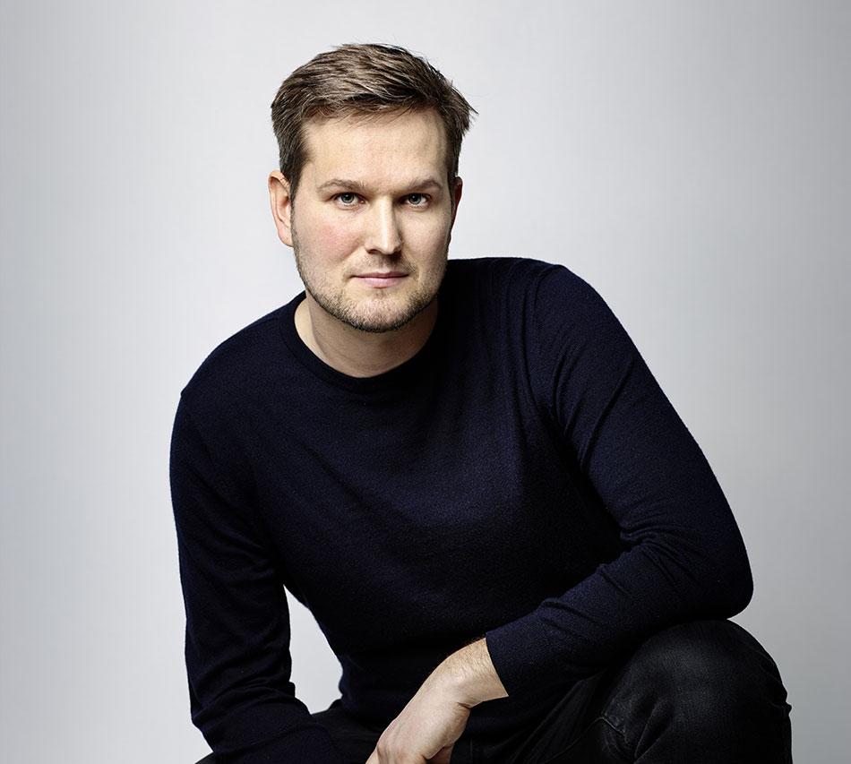 Portrait de Sebastian Herkner designer allemand