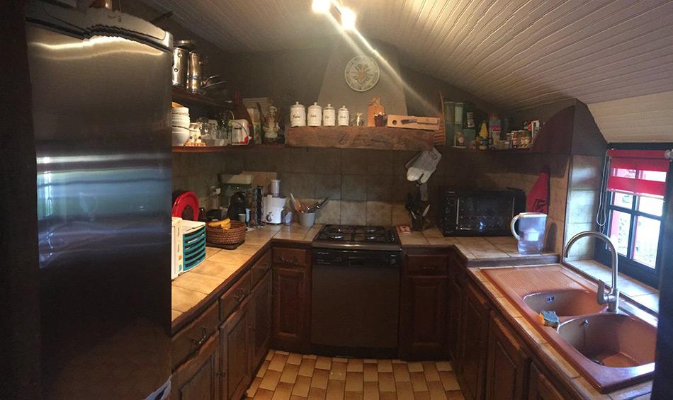 cuisine avant le passage des concepteurs schmidt à Nordt sur Erdre