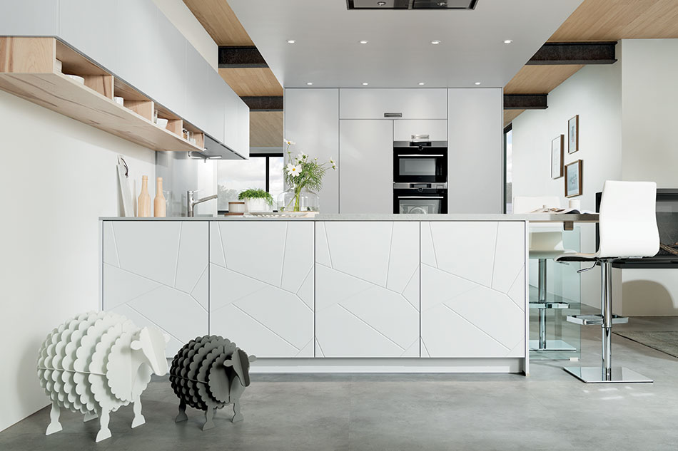 cuisine modernité scandinave sur mesure