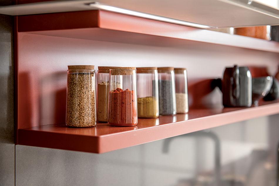 étagère de cuisine sur mesure schmidt