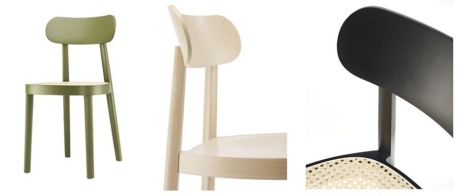 chaise design thonet 118 par Sebastien Herkner