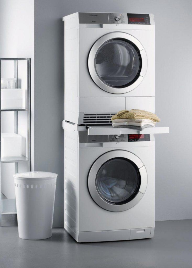 kit de superposition lave linge AEG