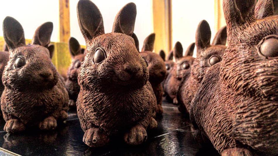 lapins de Pâques ultra réalistes par Balthazar