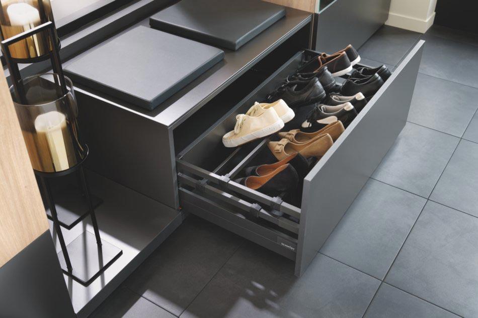 petit banc d'entrée avec rangement chaussures