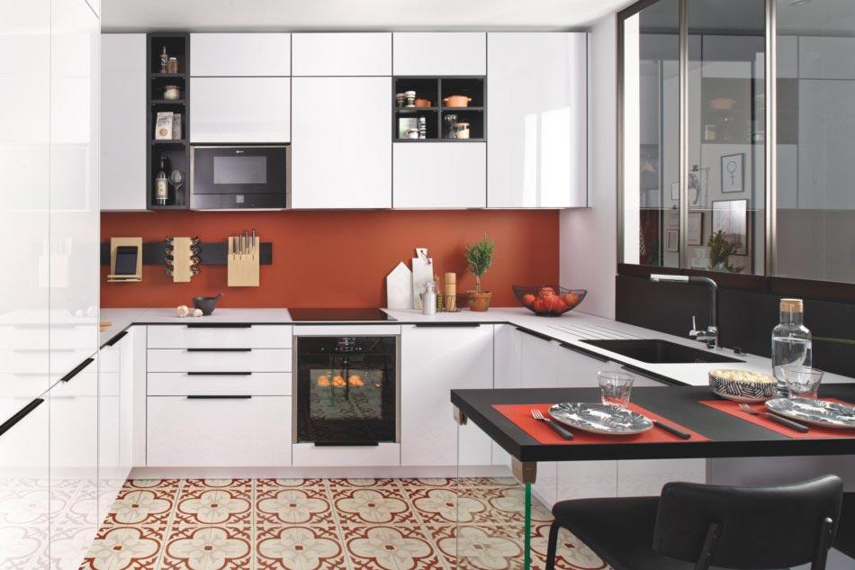Cuisine petit espace design Schmidt