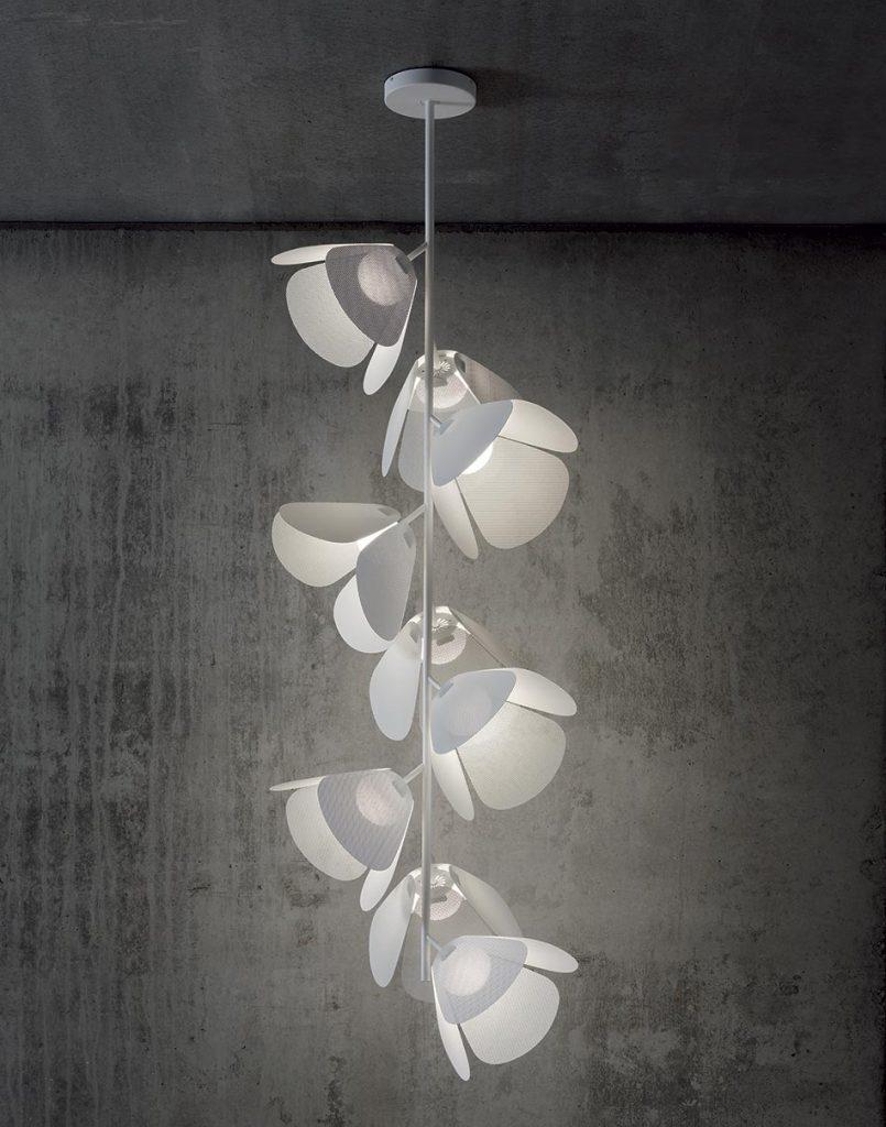 Lumiere Bover en forme de petales