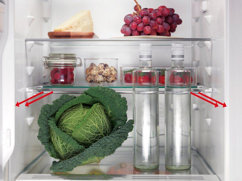 Capacité réfrigérateur ELECTROLUX