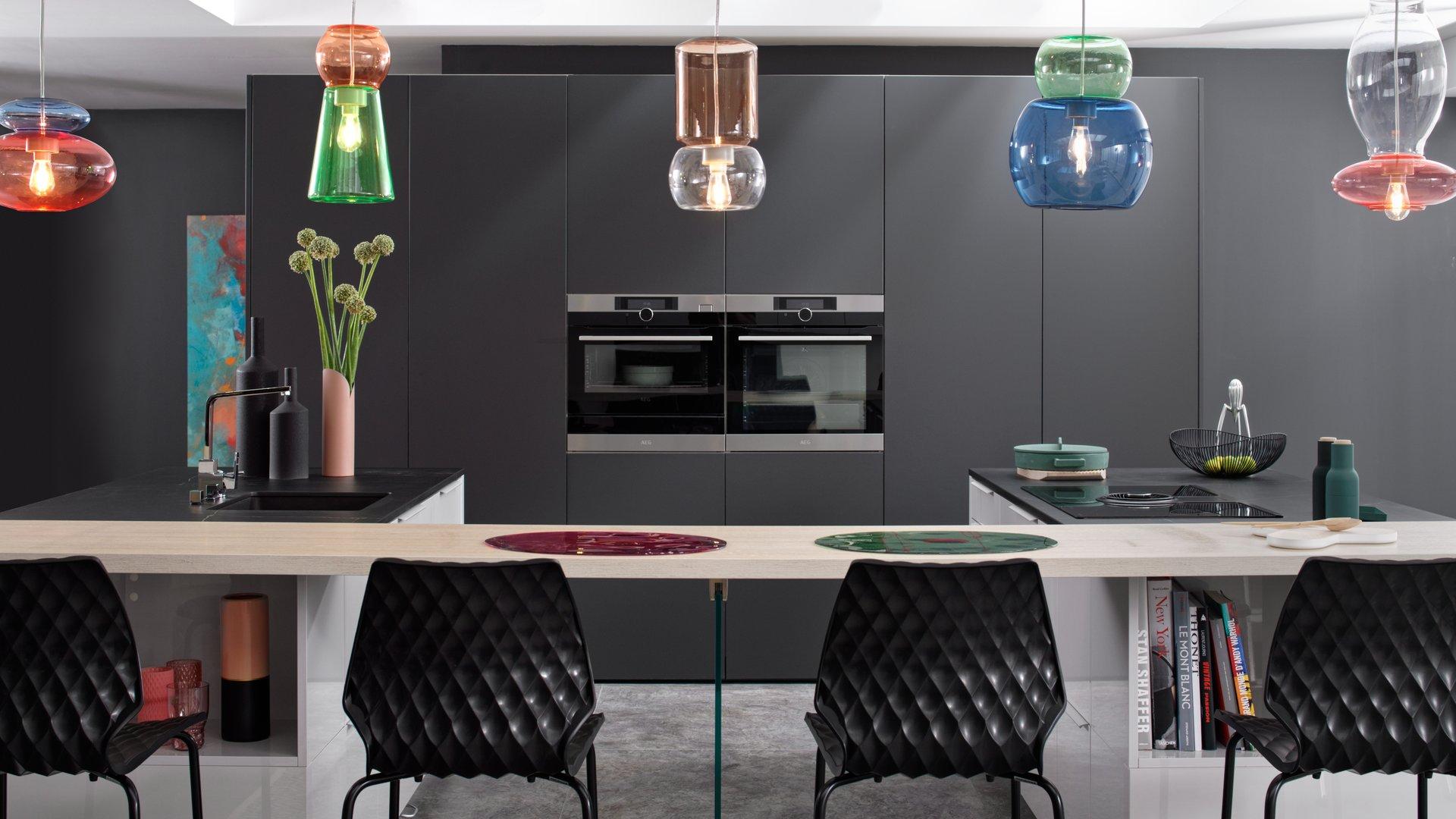 Meuble Bas De Cuisine Noir Laqué cuisine noire : avantages, inconvénients pour bien choisir