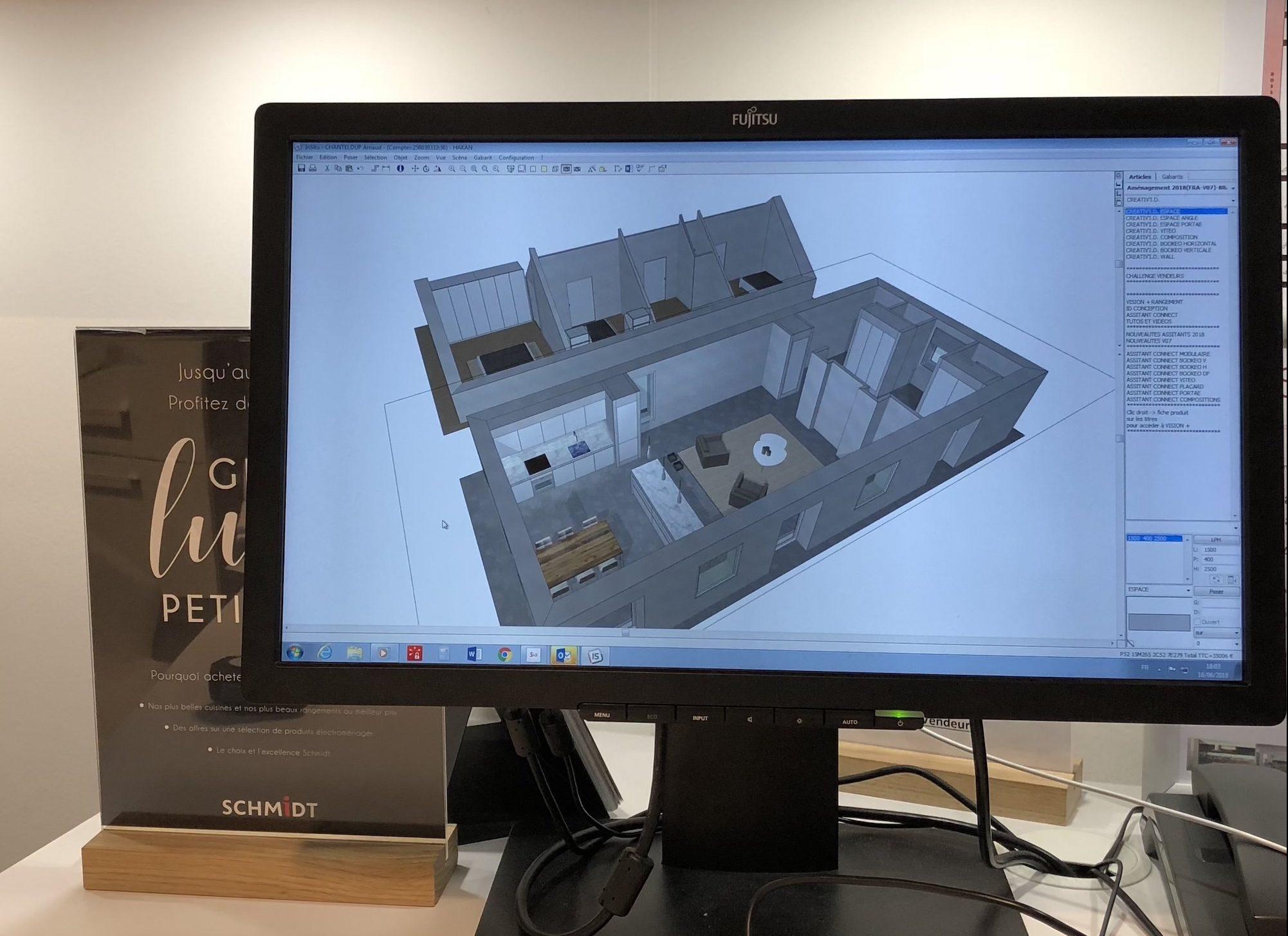 modelisation 3D schmidt