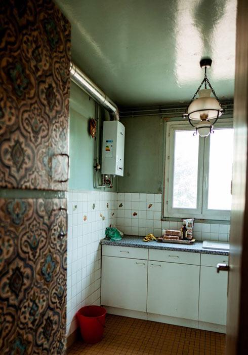 La vieille cuisine avant rénovation complète...