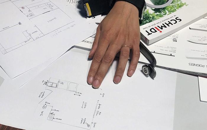 Plan et mesures de conception.
