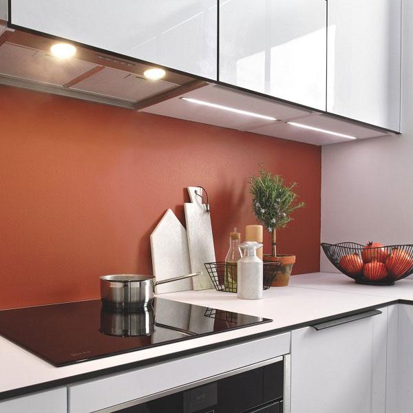Optez pour des couleurs chaudes pour créer une atmosphère chaleureuse.