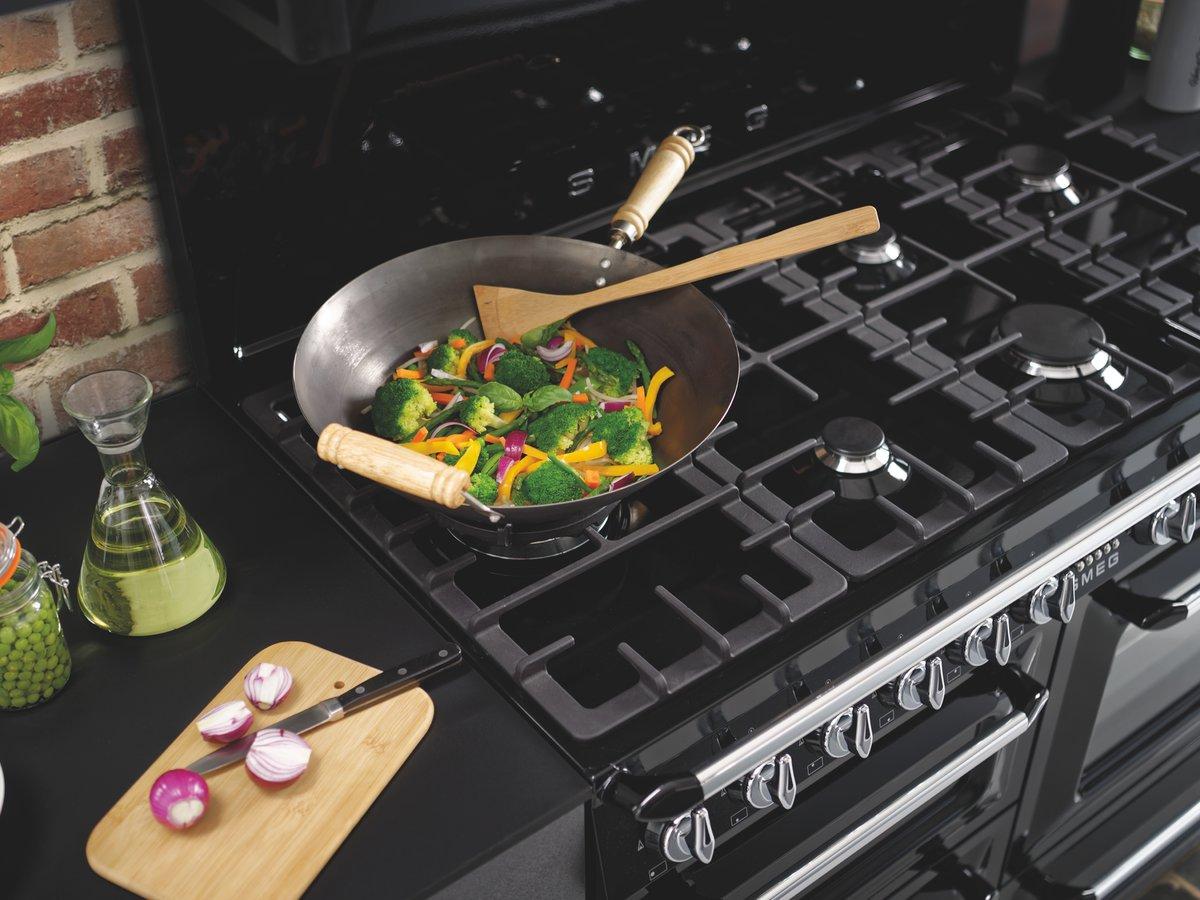 Légumes frais cuits au wok