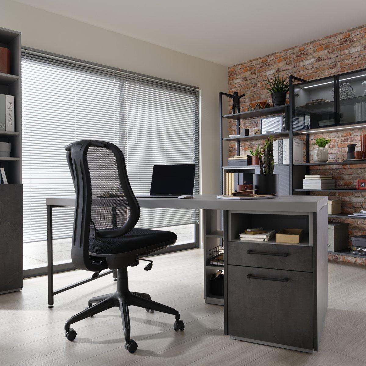 Chaise de bureau à roulette ergonomique
