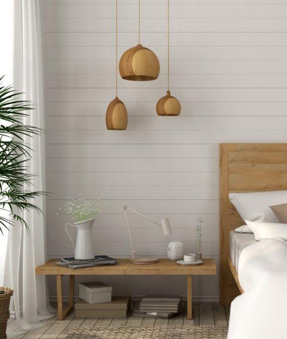 Ajoutez une touche naturelle à votre décoration comme ces luminaires en bois au design orignal.