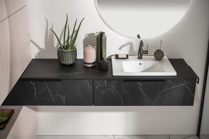 Salle de bains et vasque en céramique