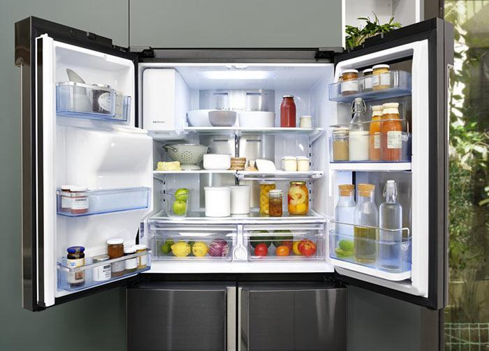 Bocaux conservés au frigo