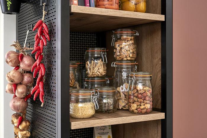 aliments conservés dans des bocaux le Parfait