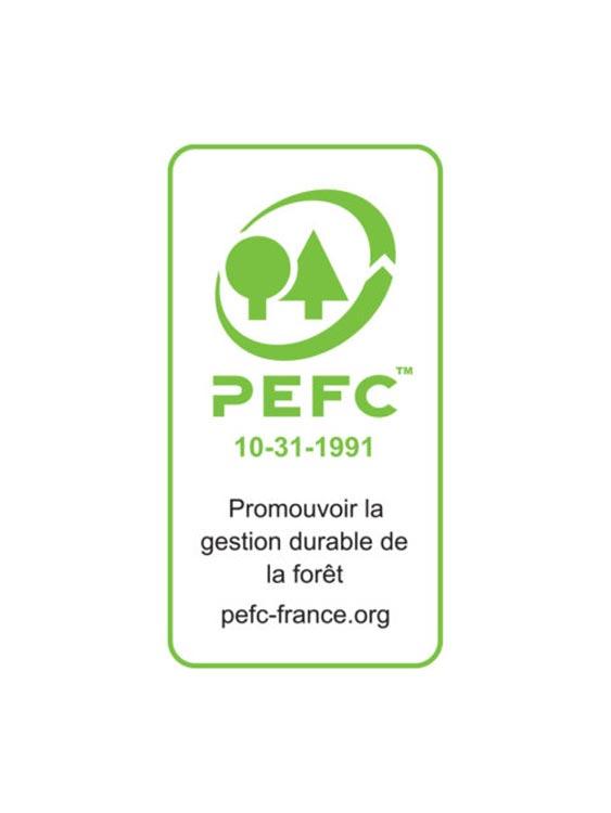 La certification PEFC pour les meubles réalisés en bois provenant de forêts gérées durablement