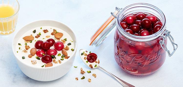 recettes pour conserver des cerises dans des bocaux le parfait et les consommer toute l'année