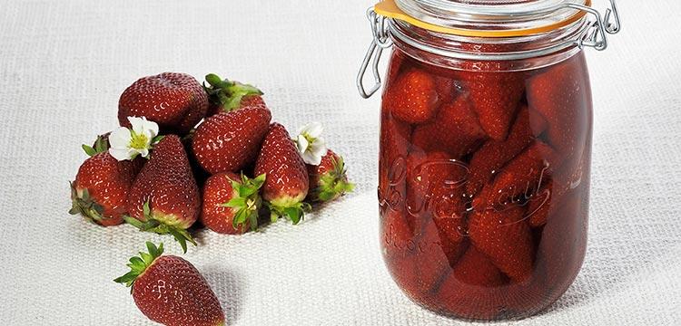 recettes fraises conservées dans bocaux le parfait