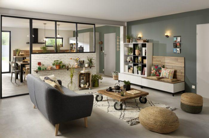 Salon Origin avec des matériaux durable et des façades 100% recyclées