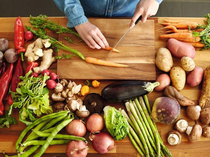consommer local et fais maison, légumes locaux