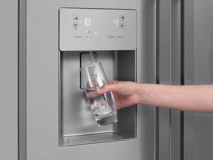 Frigo distributeur d'eau