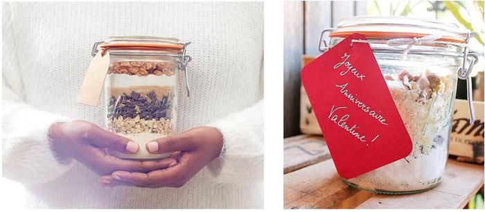 La St Valentin, Noel, fête des mères… Faites vos kits les plus gourmand et offrez-les dans des bocaux …/ Sos cookies, un bon cadeau fait maison